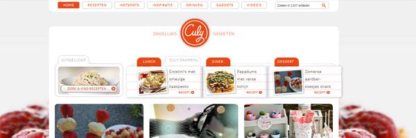Kookblog; CULY.nl