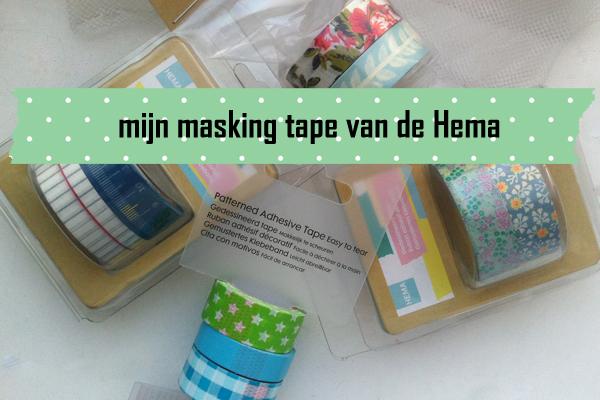 Masking tape van Hema