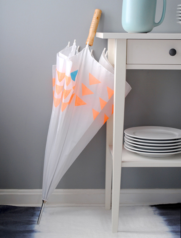 DIY Paraplu met print