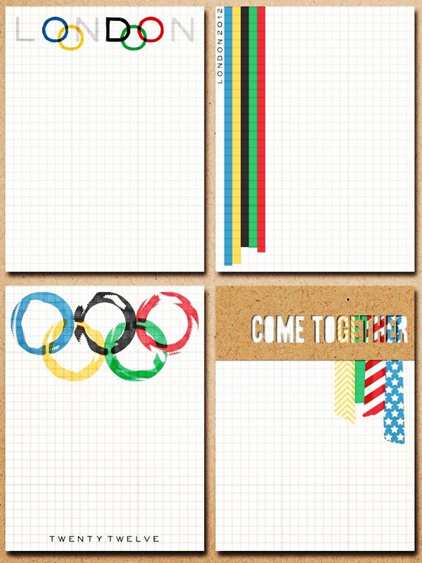 Olympische kaarten
