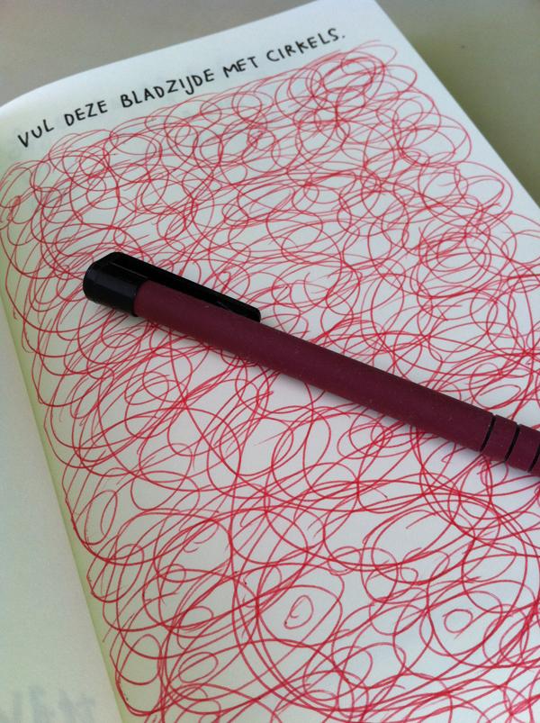 Opdracht uit Wreck This Journal 2