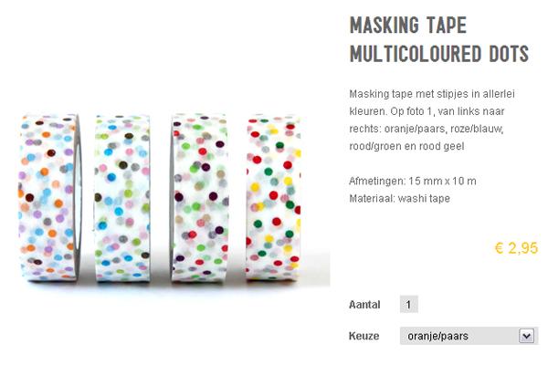 Masking tape van Paperstories