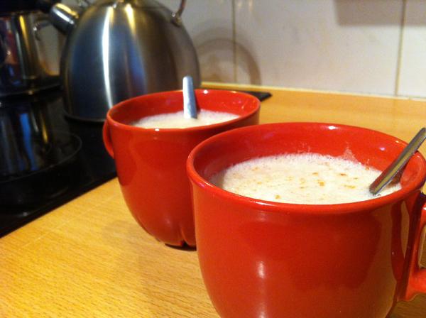 White Caffe Mocha van de Starbucks