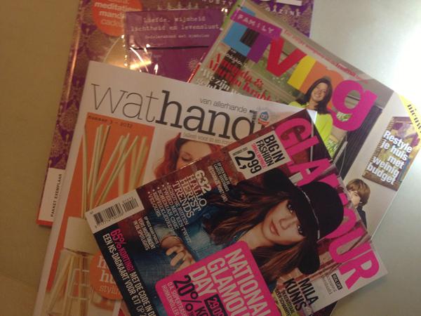 Shoplog: tijdschriften