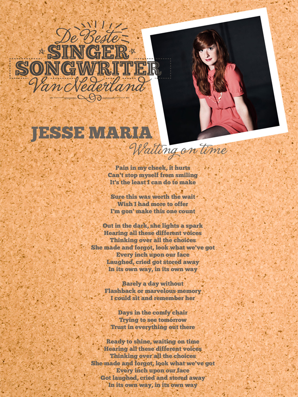 Jesse Maria - Waiting on time