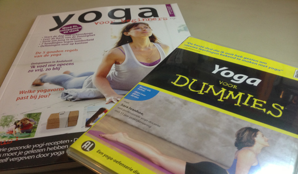 Shoplog: yoga voor beginners