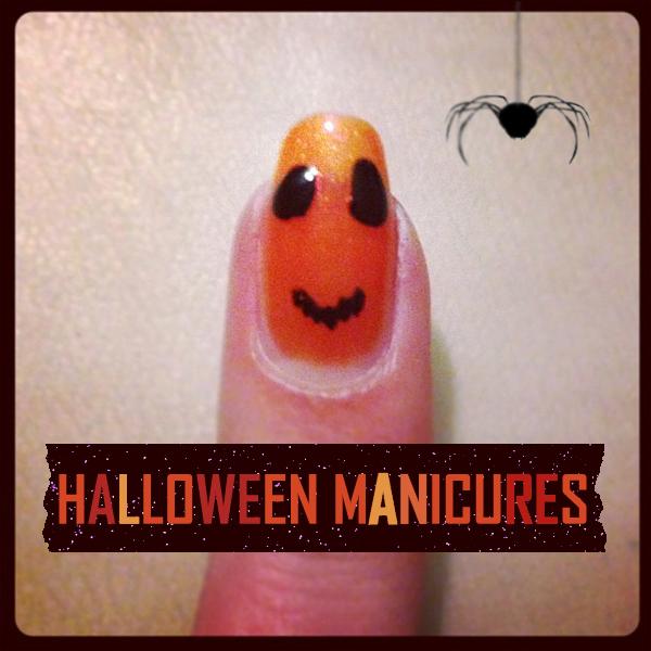 Jack-o-Lantern Manicure