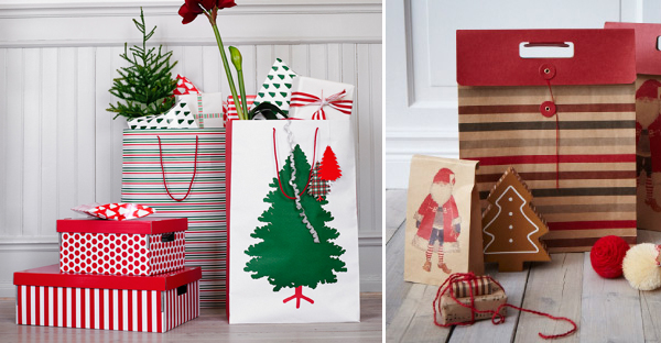Inpakken met kerst bij IKEA