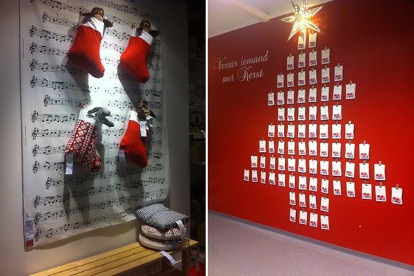 Kerstversiering bij IKEA