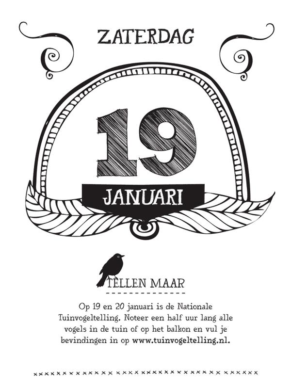 Buitenleven scheurkalender 19 januari