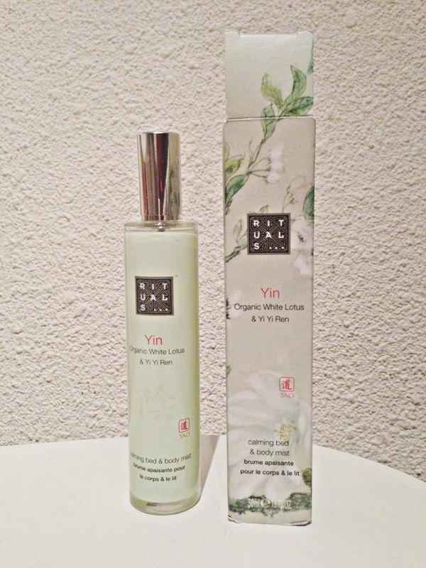 Rituals Yin calming body & bed mist