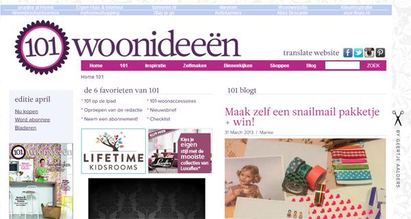 101woonideeen.nl; blog