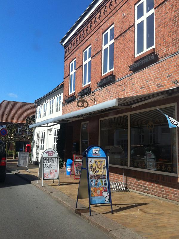 Bageri in Denemarken