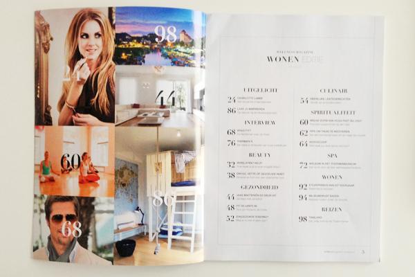inhoud van Wellness Magazine