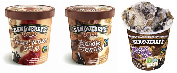 Nieuwe smaken Ben en Jerry's