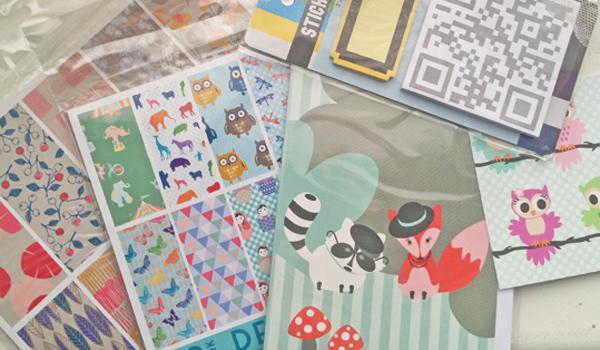 Sostrene Grene kaarten en papier
