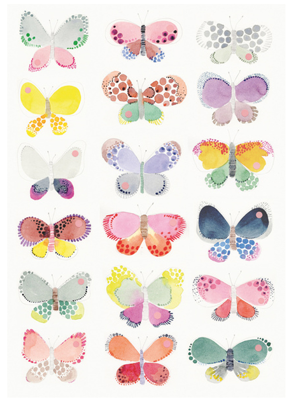 Studio Sjoesjoe - vlinders
