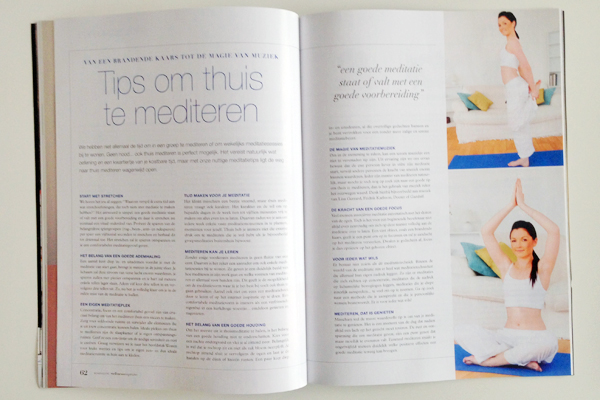 Wellness Magazine mediteren