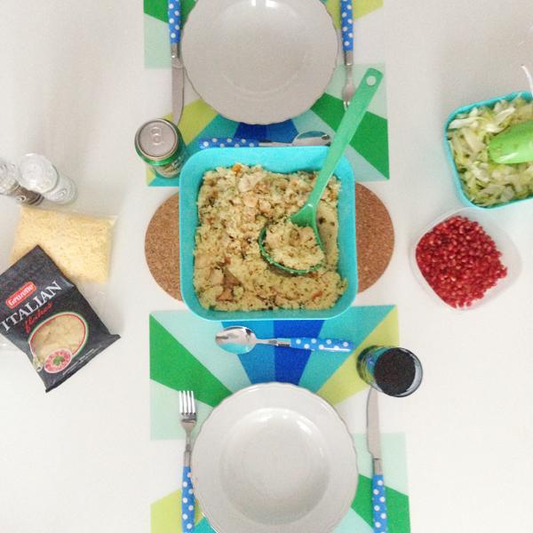 Eet smakelijk: couscous met granaatappelpitjes
