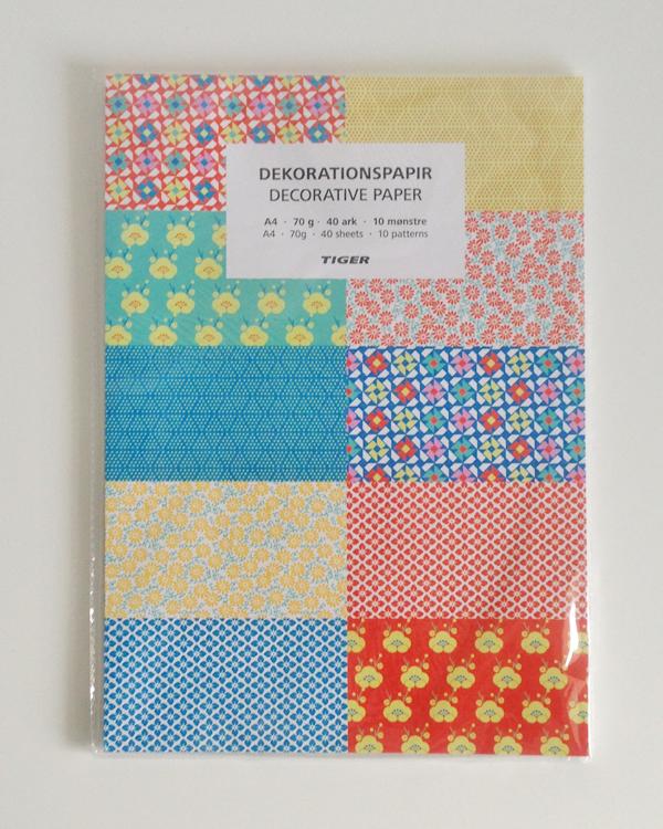 Shoplog DK; decoratiepapier