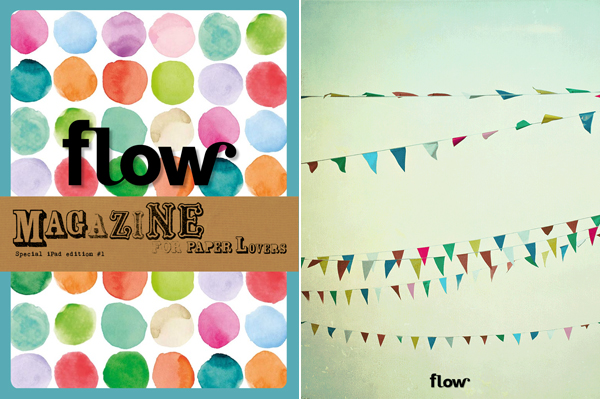 iPad app van Flow Magazine
