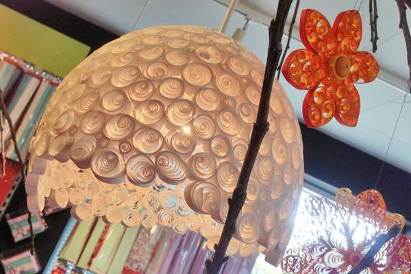 Papiermuseum; lamp