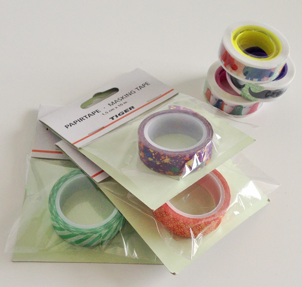 Shoplog DK; tape
