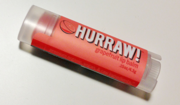 Miss Lipgloss; Hurraw! Grapefruit