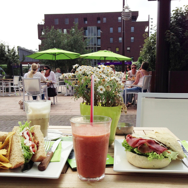 Barista Café in Hoofddorp - lunch
