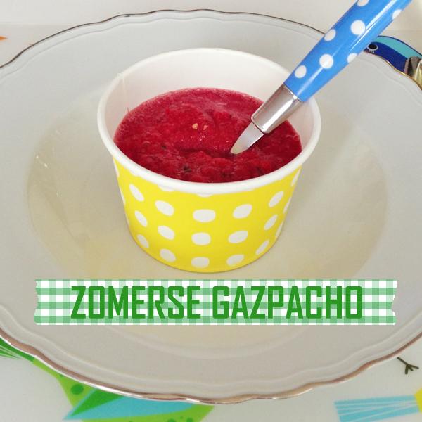 zomerse gazpacho met bieten