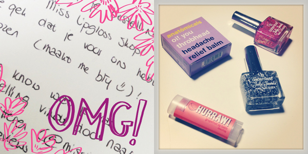 Happy Moments; misslipgloss webshop