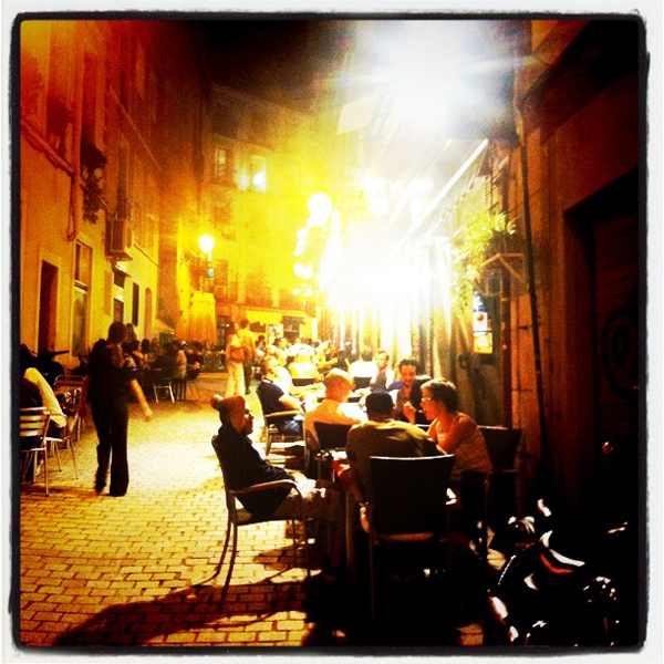 Tapas eten in Madrid bij Taberna Kaixo