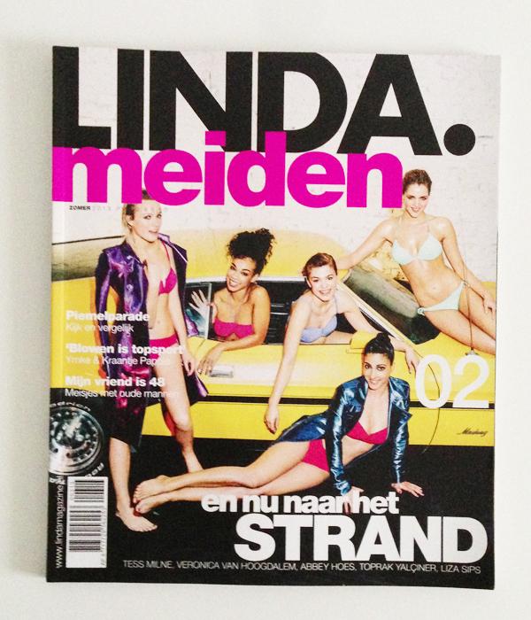 Tijdschriften voor de zomer; Linda Meiden