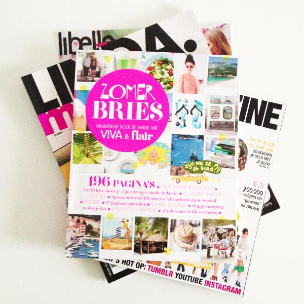 Tijdschriften voor de zomer
