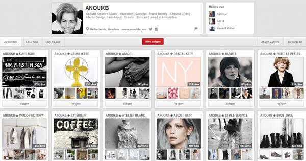 Pinterest; AnoukB