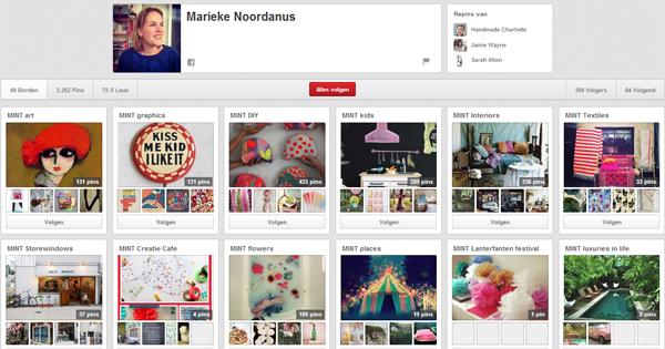 Pinterest; Marieke Noordanus