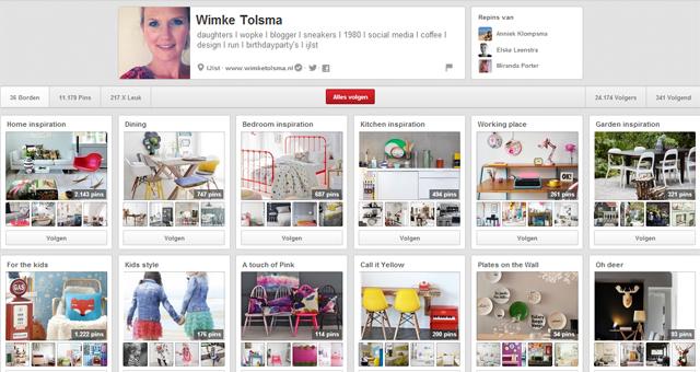 Pinterest; wimke tolsma