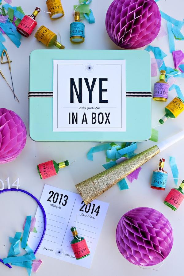 Een creatief 2014 - NYE in een box