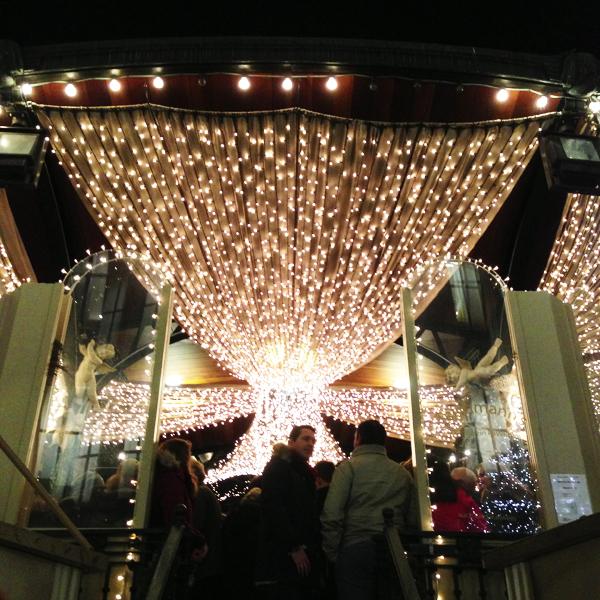 Kerstmarkt, Dusseldorf