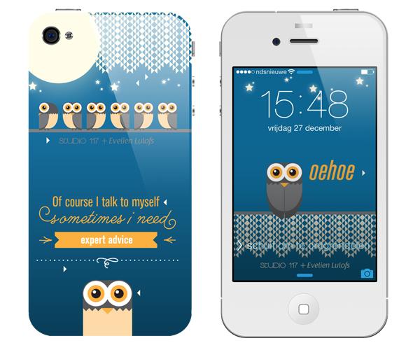 iPhonehoesje OwlsWisdom
