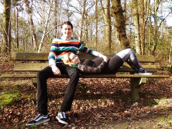Zwangerschapsfotoshoot Frank en Marike - 16 februari