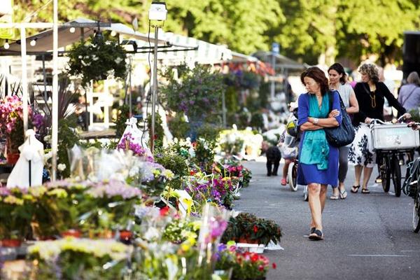 Luilak bloemenmarkt Haarlem