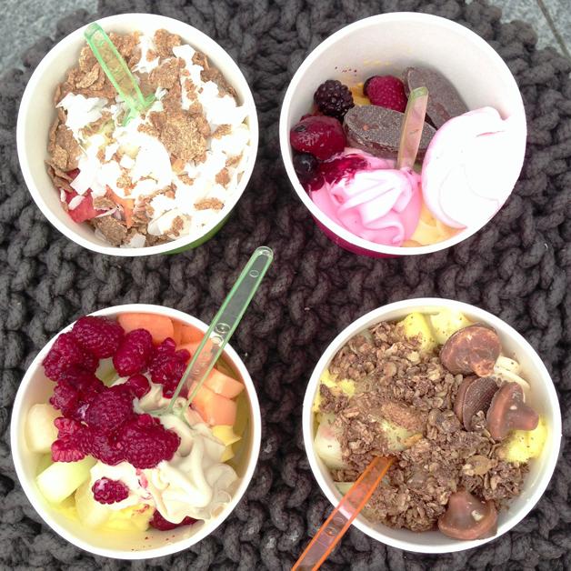 Frozen Yoghurt van Frøken