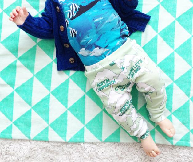 Javian's outfit: diep in de zee