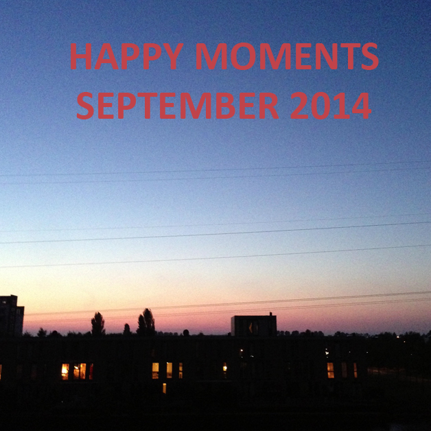 Happy Moments September 2014