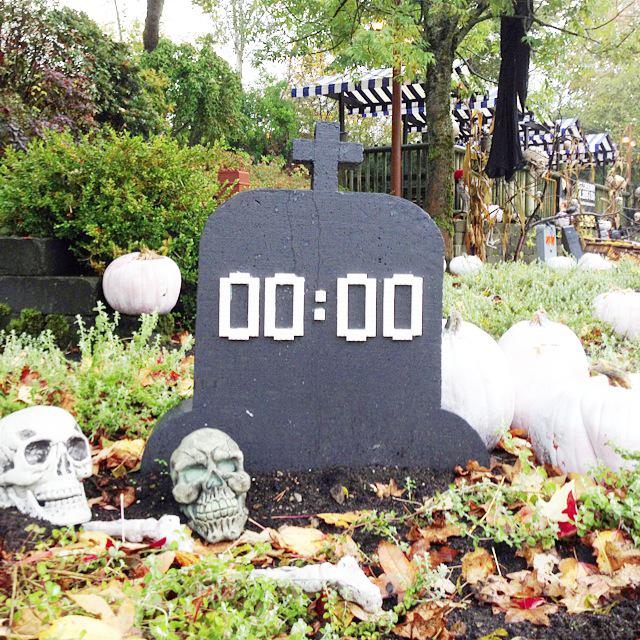 Legoland Halloween - Legoland begraafplaats