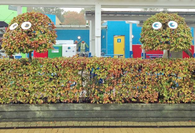Legoland Halloween - bomen