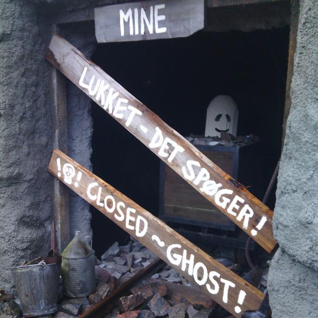 Legoland Halloween - gesloten mijn